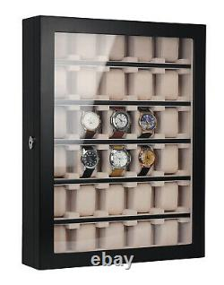 Quality 30 Watch Cabinet Luxury Case Storage Display Box Jewellery Watches 51