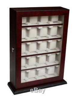 Quality Watch Cabinet Luxury Case Storage Display Box Jewellery Watches R