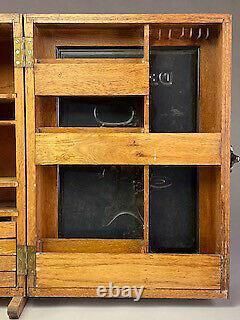 Rare Delaval Cream Separator Country Store Parts & Service Cabinet