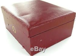 SCARCE 1960s OMEGA CONSTELLATION 14900 MENS WATCH STORAGE / DISPLAY CASE
