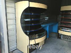 Southern Store Fixtures MDC-4 Refrigerated Display Case Open Air Self Contained