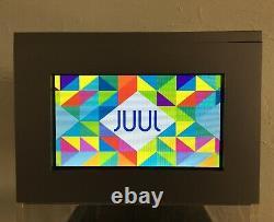 Store Display Case DIGITAL VIDEO MONITOR Rare JUULS Advertising Sign