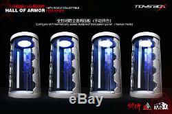 TOYS-BOX 1/6 Remote Control Spider-man Hall of Armor Display Box Storage Case