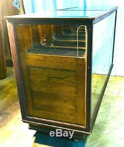 Unique Old General Store 18 Drawer Shirt / Clothing Display Cabinet / Showcase