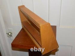 Vintage Esterbrook Pens Art Deco Wood Store Display Case