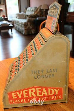 Vintage Eveready Store Display
