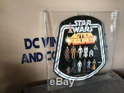 Vintage Scarce Kenner 1977 Star Wars Bell Store Display Custom Acrylic Case