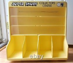 Vintage Super Smurf Collector's Center Wallace Berrie Co. 1980s store display