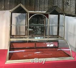 Vintage Twin Tower General / Country Store Showcase / Display Case