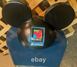 Vtg Authentic Unlimited Disney Mickey Mouse Store Watch Display Case36 x 13